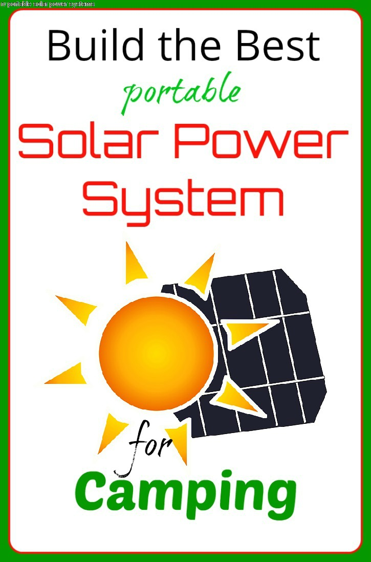 Best portable solar power system