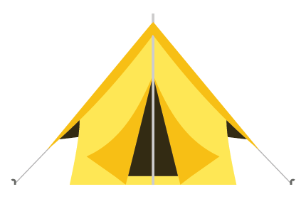 ridge tent shape