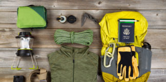 camping gear made out of polyester and nylon
